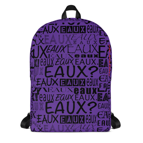 PURPLE/BLACK ALLEAUXVER Backpack