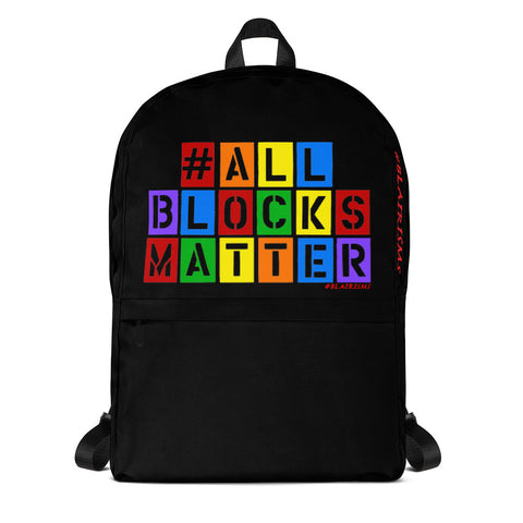 #ALLBLOCKSMATTER Backpack
