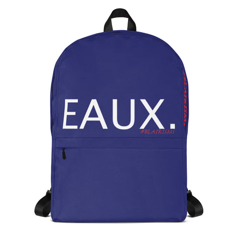 EAUX. NAVY Backpack