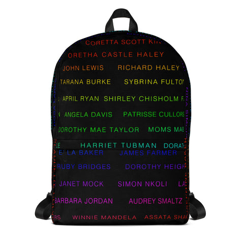 ACTIVIST RAINBEAUX BLACK Backpack