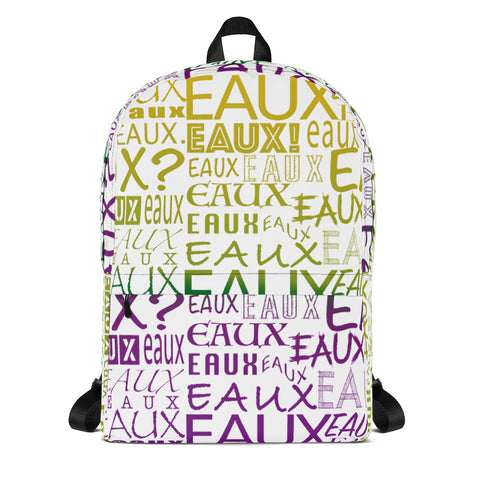 AllEAUXver Mardi Gras Backpack