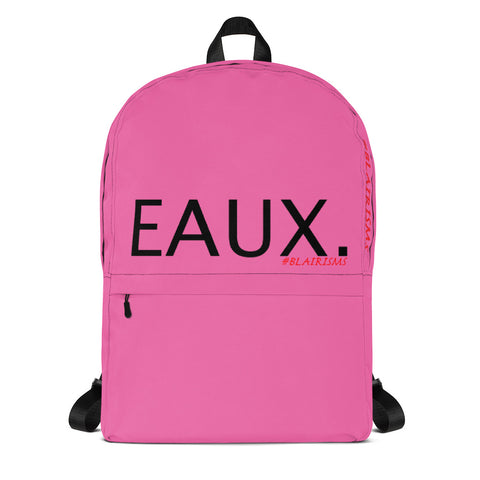 PINK & BLACK EAUX. Backpack