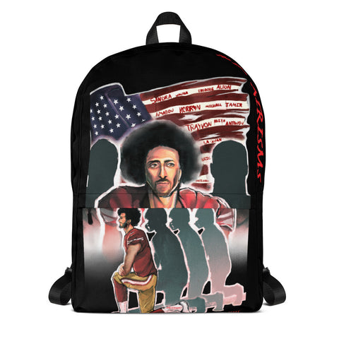 KAEPERNICK PROTEST Backpack