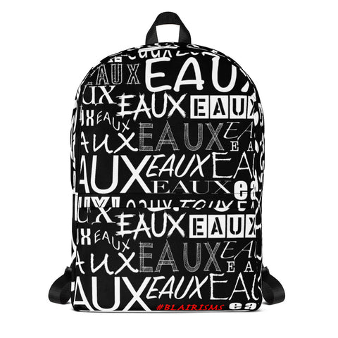 AllEAUXver Backpack (Blk)