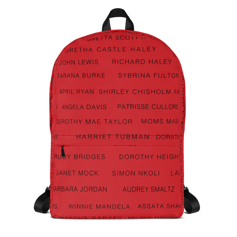 RED ACTIVIST Backpack