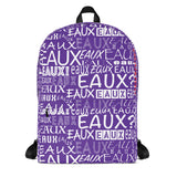 PURPLE/WHITE ALLEAUXVER Backpack