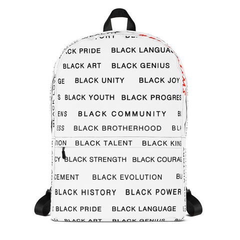 Black Magic AllEAUXver Backpack (WHT)