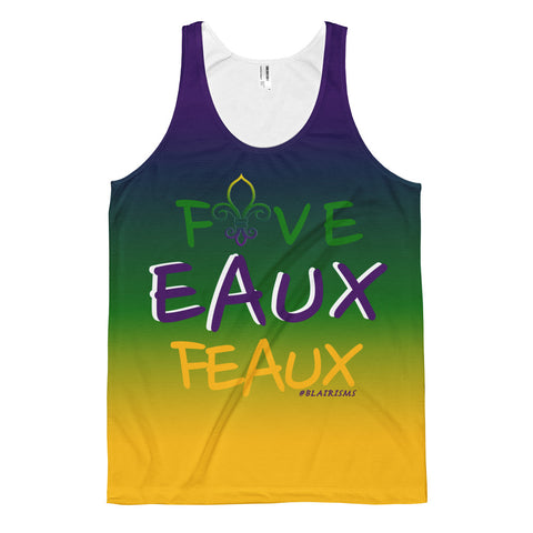 MARDI GRAS FIVE EAUX FEAUX Men's Classic fit tank top