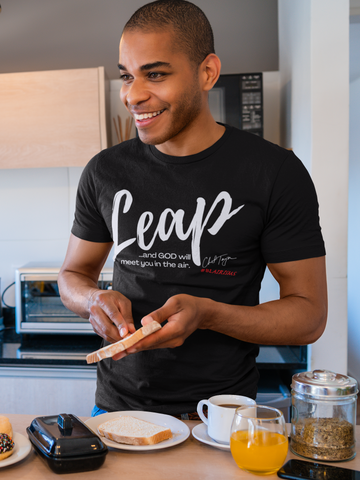 LEAP Chef Toya #BLAIRISMS Men's Crew Neck