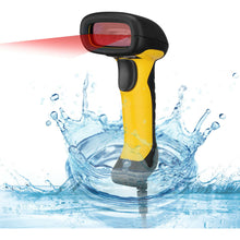 Antimicrobial Waterproof Adesso NuScan 2400 Barcode Scanner