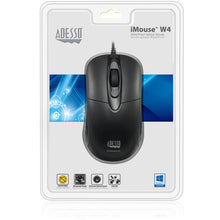 Adesso iMouse W4 Waterproof Antimicrobial Optical Mouse