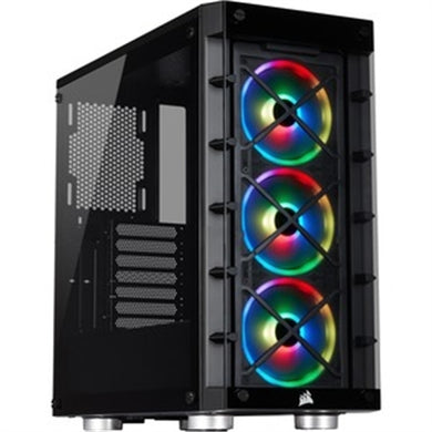 Corsair iCUE 465X RGB Mid-Tower ATX Smart Case - Black
