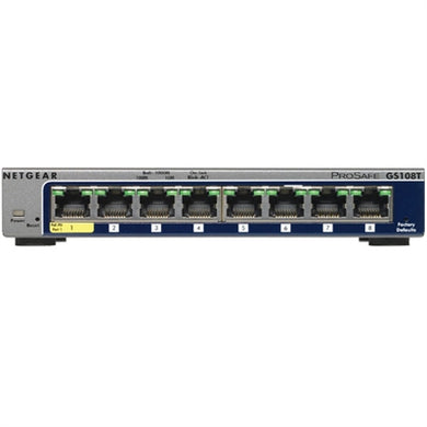 Netgear 8-Port Gigabit Ethernet Smart Managed Pro Switches with Cloud Management