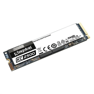 Kingston KC2500 500 GB Solid State Drive - M.2 2280 Internal - PCI Express NVMe (PCI Express NVMe 3.0 x4)