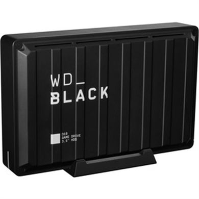 WD Black D10 WDBA3P0080HBK 8 TB Desktop Hard Drive - External - Black