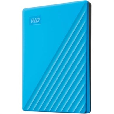 WD My Passport WDBYVG0020BBL 2 TB Portable Hard Drive - External - Blue