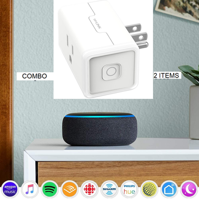 Echo dot 3rd Gen and TP-Link Smart PLug Mini Combo