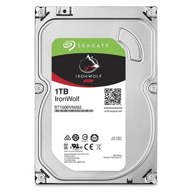 Seagate IronWolf ST1000VN002 1 TB Hard Drive - 3.5