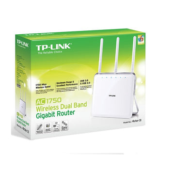 TP-Link ARCHER C8 Dual Band WirelessAC1750 Gigabit Router