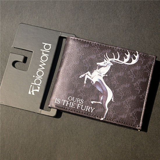 Game Of Thrones Ours Is The Fury Baratheon Wallet