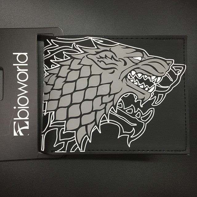 Game Of Thrones Stark Black Wallet