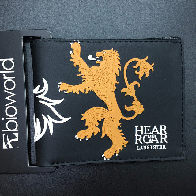 Lannister Game Of Thrones Wallet