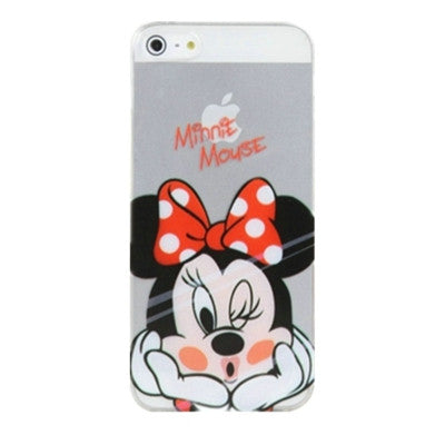 Minnie Mouse Clear Phone Case For iPhone 7 7Plus 6 6s Plus 5 5s SE