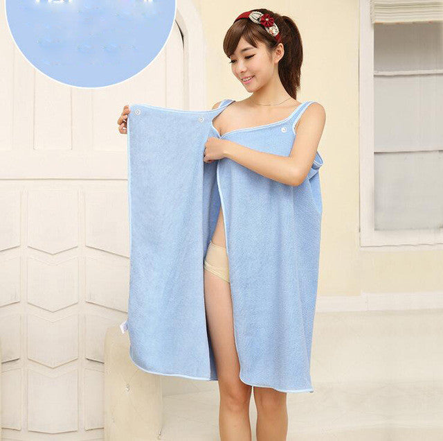 Beach/Bath Wrap  BLue 138*80cm Microfiber