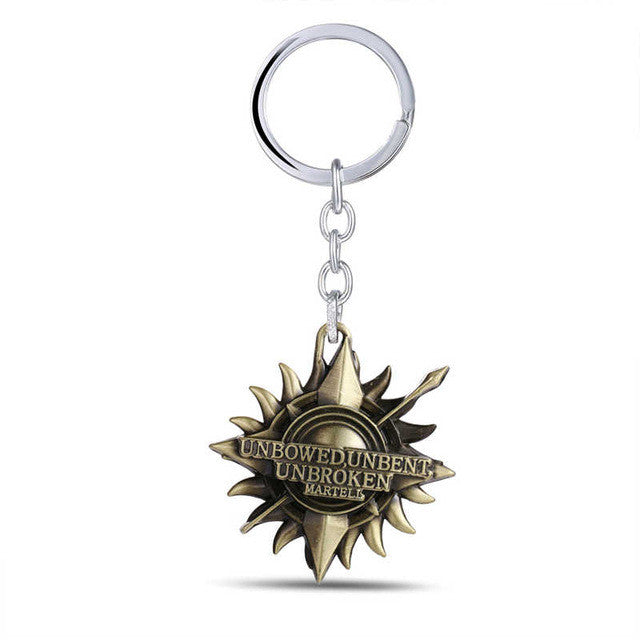 Game of Thrones /Martell/ Key Chain/A Song of Ice & Fire