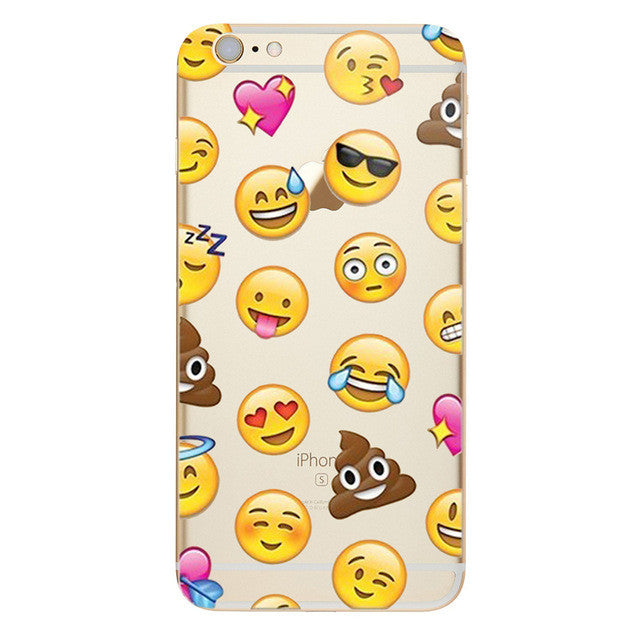 Lots of Emoji's Phone Case For iPhone 7 7Plus 6 6s Plus 5 5s SE