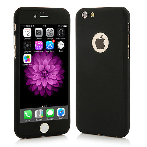 Black Full Cover for ALL iPhone 5 / 6 / 7 Models