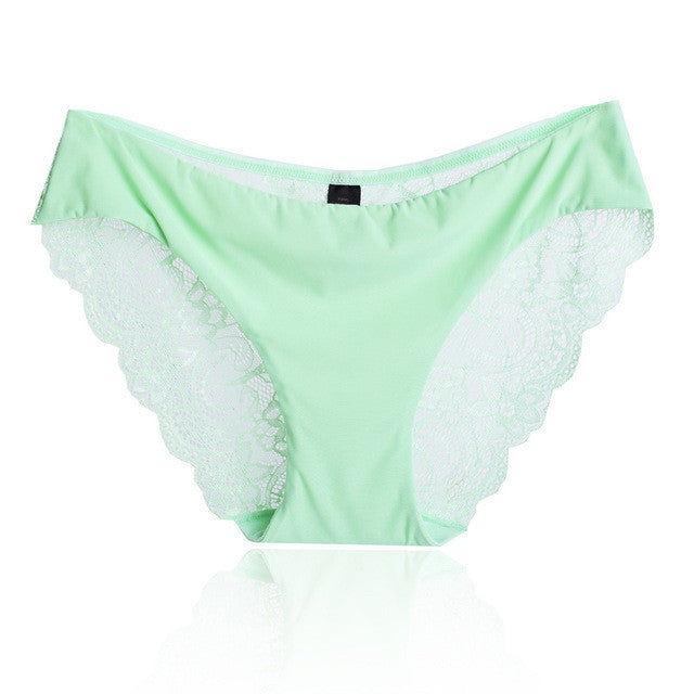 Sexy Pretty Light Green Low Rise Panty