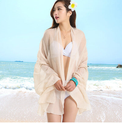 Sexy Sarong Summer Bikini Nude Cover-up