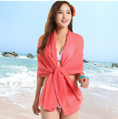 Sexy Sarong Summer Bikini Rose Cover-up
