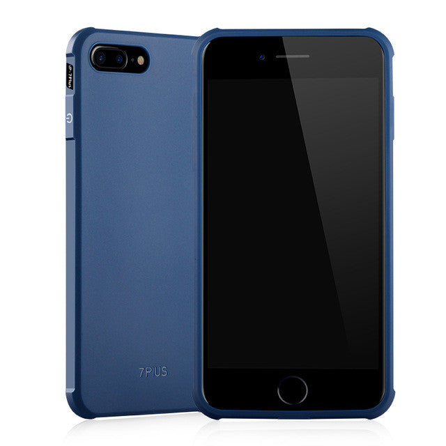 ARTISOME Silicone Blue Case for iPhone 7 7plus