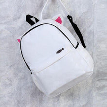 Really Cute Back To School White Backpack