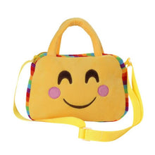Cute Emoji Bright Yellow Satchel Crossbody Perfect for School Supplies/Cellphone/ID And Much More