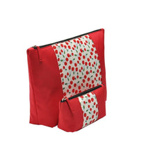 Red Cherry Travel Clutch Storage Bags