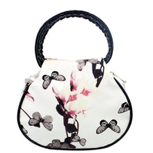 Retro Clutch Bag    Very Feminine With Pretty Butterflies and Flowers