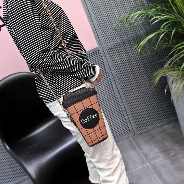 Original Coffee Crossbody Satchel Tote   Awesome Interior Slots Including Cell Phone Slot/Zipper Slot/Key Holder and More!!!  Black