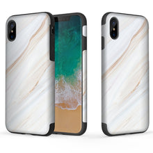 iPhoneX Black Marble Case