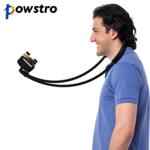 Powstro Flexible Necklace 360 Degree Rotation Phone Holder For iPhone and Samsung