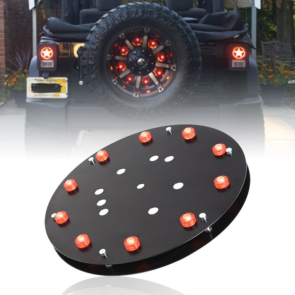 Jeep Wrangler Spare Tire Led Brake Light With Directions Complete Kit  U2013 Done Right Led