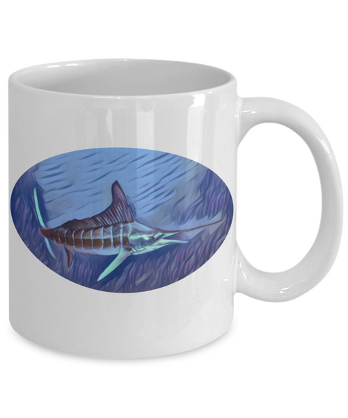 Stripe Marlin Mug - LIMITED EDITION - Unique Novelty Gifts