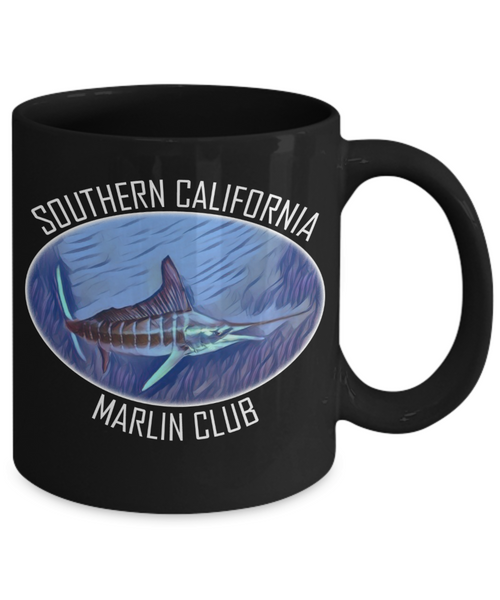 Southern California Marlin Club Mug - LIMITED EDITION - Unique Novelty Gifts