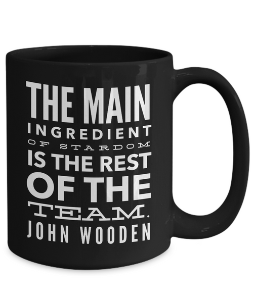 Great Basketball Coach Gift. Quote From John Wooden - Unique Novelty Gifts