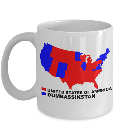 2016 Political Map Mug - LIMITED TIME ONLY - Unique Novelty Gifts