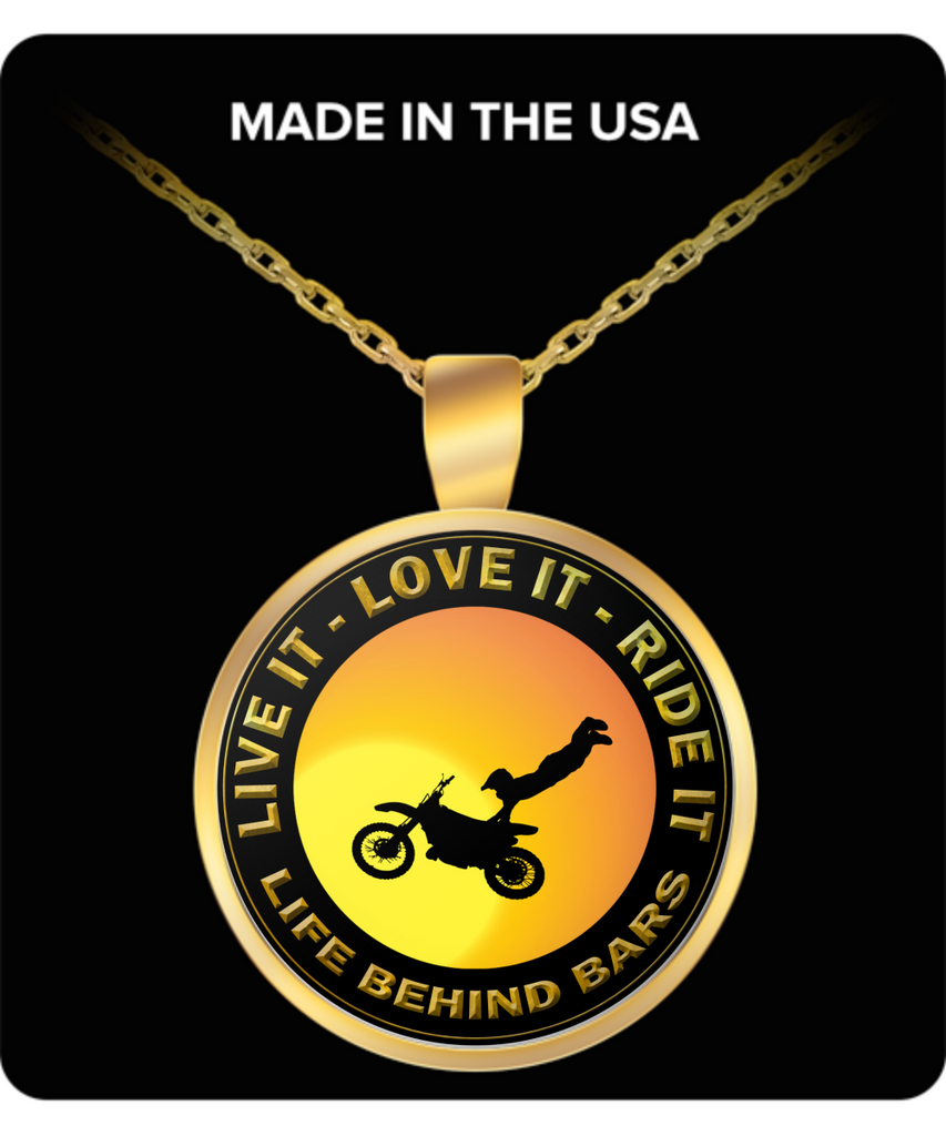 Live it - Love it - Ride it, Great Gift for The Motocross Lovers In Your Family