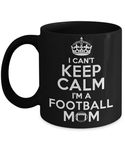 Football Mom..Best Unique Funny Novelty Gag Birthday Gift Coffee Mug for Mom, Dad, Brother, Sister, Son, Daughter, Boyfriend, Girlfriend, Him, Her, Husband, Wife or Friend 11oz and 15oz Avaialable - Unique Novelty Gifts