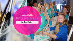 private kids paint parties